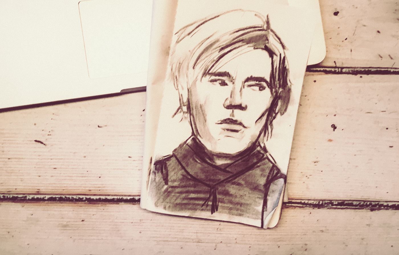 Andy Warhol Sketch