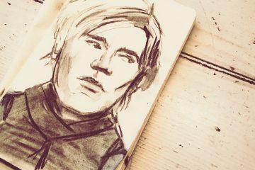 Andy Warhol Sketch