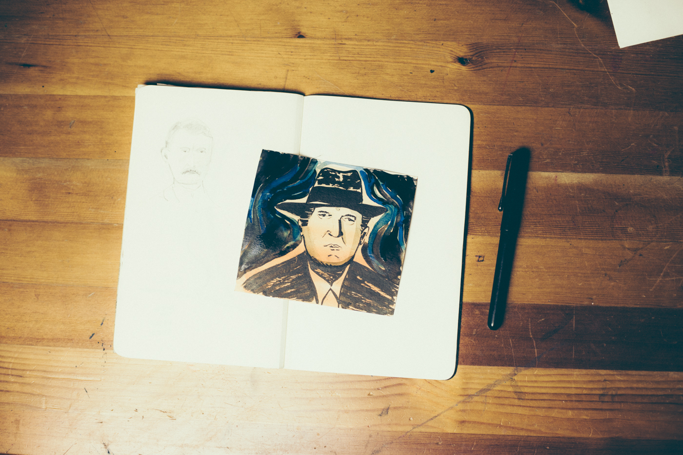 Sketch Edvard Munch