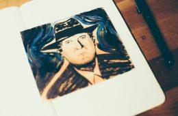 Sketch Edvard Munch