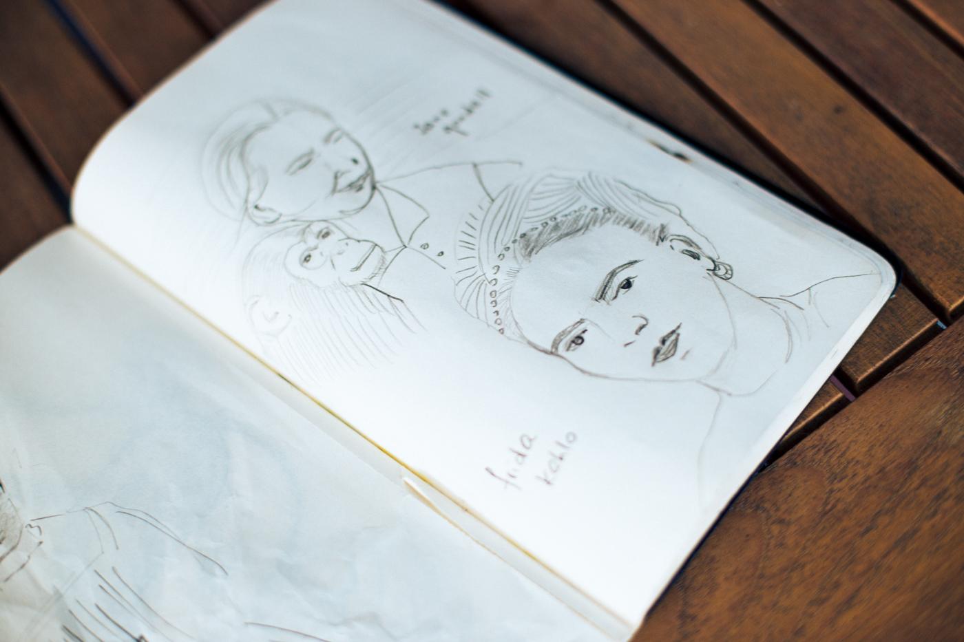 Frauen Skizzen